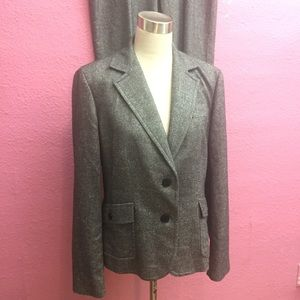 Career business professional suit  Tall Gray
